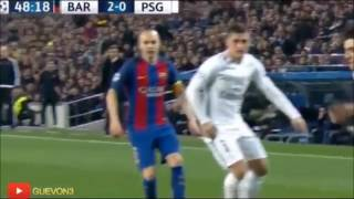 Fc Barcelona 6 - 1 Paris Saint Germain (Narracion Luis Omar Tapia)
