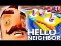 Hello Neighbor ДОБЫЛ ТАЙНОЕ ОРУЖИЕ СОСЕДА Новые тайны Акт 3 Мультяшный хоррор Привет Сосед mp3