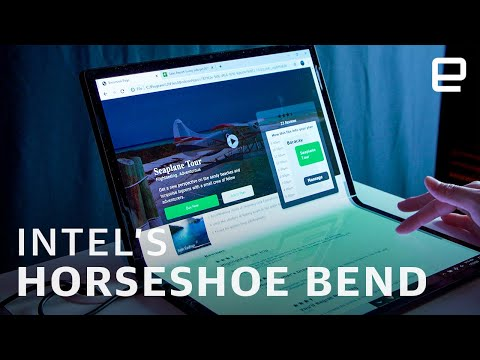 Intel's Horseshoe Bend concept hands-on at CES 2020