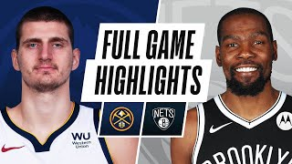 NUGGETS at NETS | FULL GAME HIGHLIGHTS | January 12, 2021