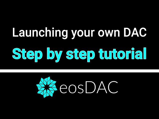 Tutorial: Launching Your Own DAC on the Jungle Test Network with eosDAC