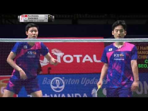 Sudirman Cup Final Badminton  2017  - Fu Haifeng Zhang Nan vs Choi Solgyu Seo Seung Jae