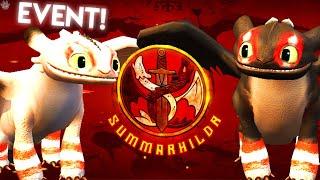 SUMMARHILDR EVENT! ADULT NIGHT LIGHTS, BEWILDERBEAST & MORE | School of Dragons screenshot 5