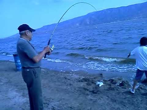 fishing in lake elsinore youtube
