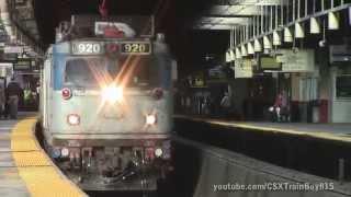 PM Rush Hour Railfanning at Newark Penn Station
