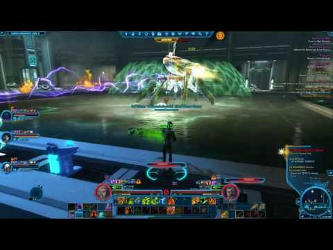 STAR WARS: The Old Republic PVE – Imperial Agent Healer Gameplay – Czerka Corporate Labs
