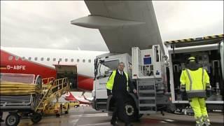 Zwischen Touch-down und Take-off - ein Job am Flughafen Stuttgart