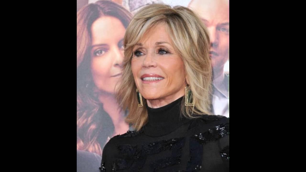 Jane Fonda Signature Layered Frisur Für Frauen über YouTube