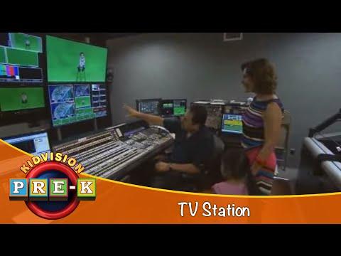 Take A Field Trip To A TV Station    KidVision Pre-K