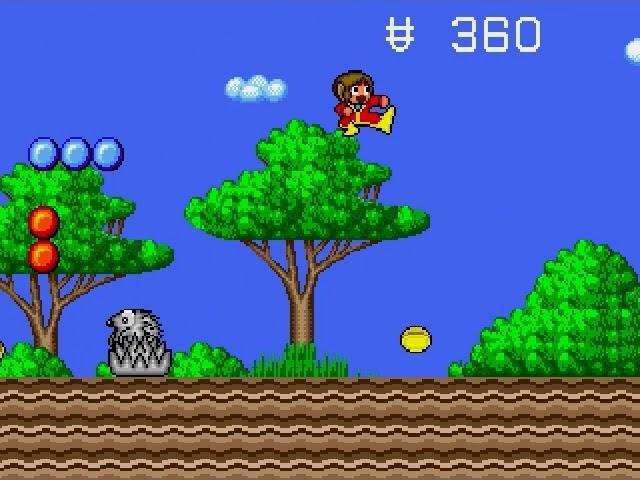 Jouez à Alex Kidd in the Enchanted Castle sur Sega Megadrive/Genesis