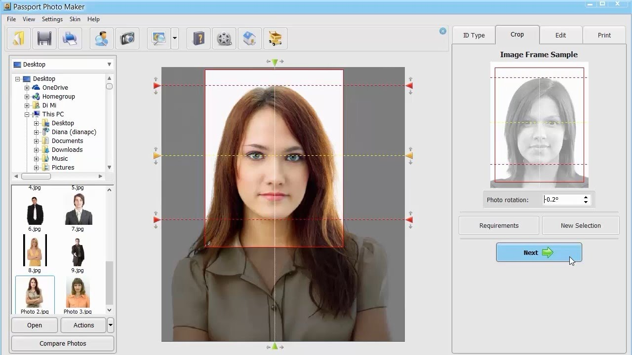 Best Passport Photo Software Review - YouTube