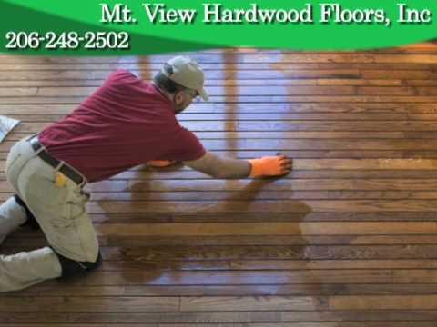 Mt View Hardwood Floors Seattle Wa Youtube