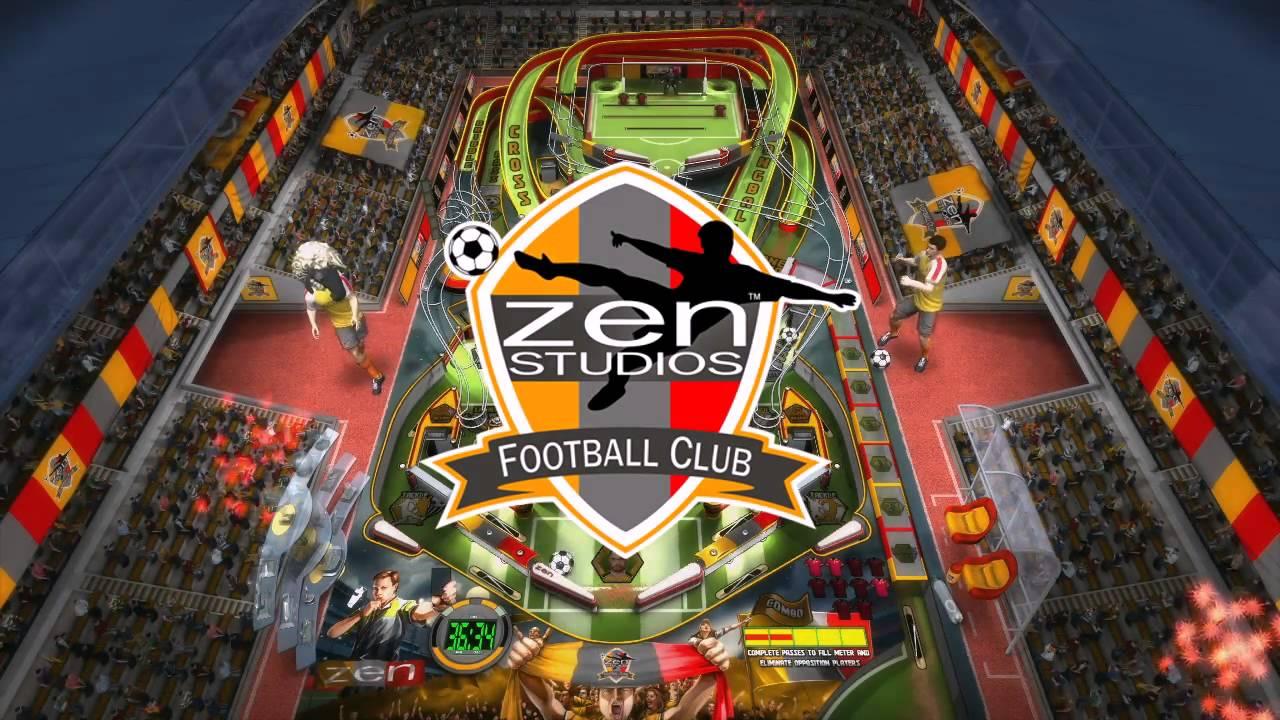 Super League Football For Zen Pinball Trailer Youtube