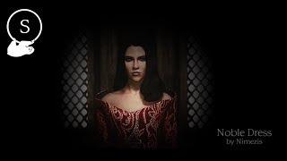 Noble Dress - A Skyrim Dress Showcase