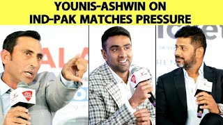EXCLUSIVE: Younis-Ashwin on India vs Pakistan Cricket Rivalry | Vikrant Gupta