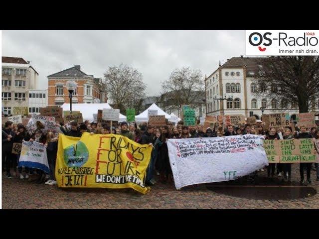 #FridaysForFuture 15.03.2019 - Osnabrück - Os-Radio Lokalnachrichten ONLINE