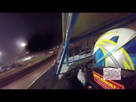 Tate McCollum Steelhead/525 In-Car Dixie Speedway 7/22/17!