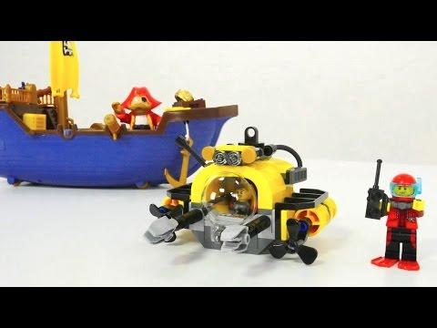 Ein Verlorener Piratenschatz. Videos Mit Spielsachen.