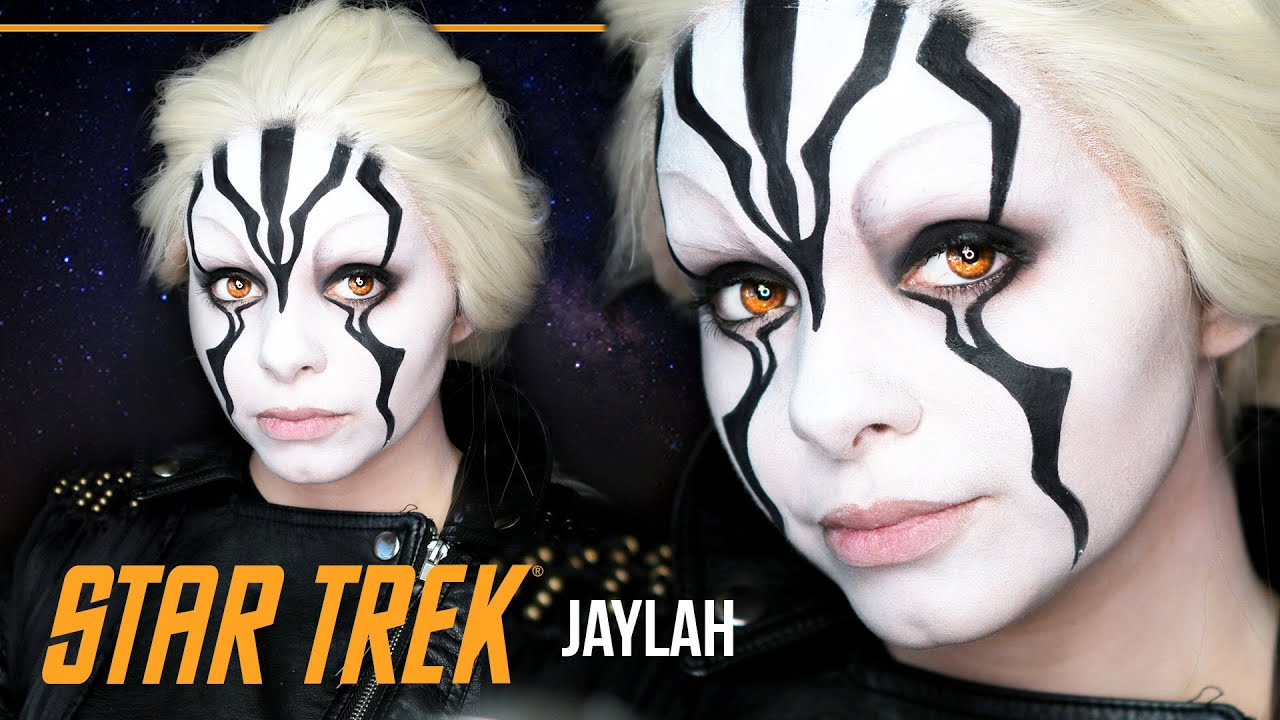 Jaylah star trek beyond makeup tutorial youtube - Jaylah sofia boutella ...