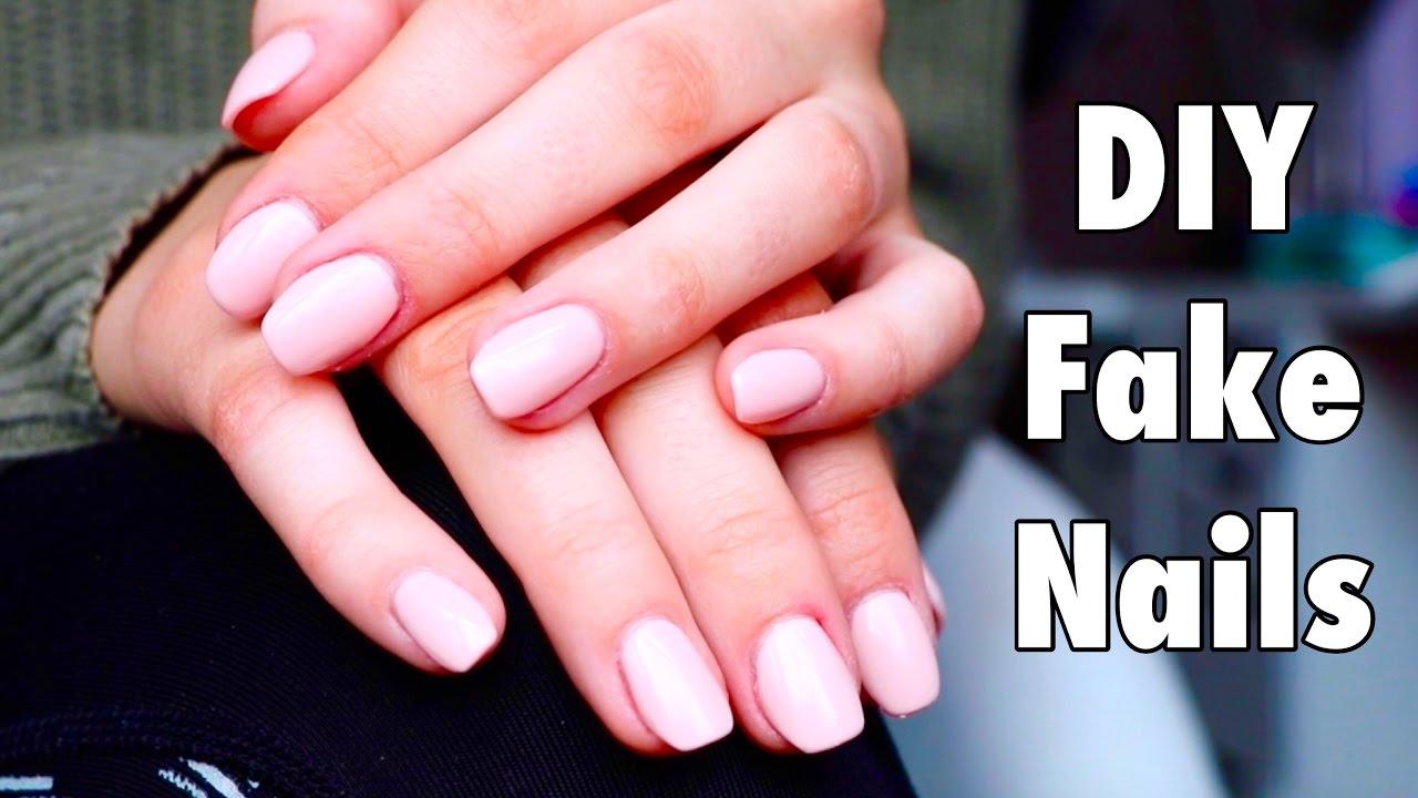 DIY Easy Fake Nails