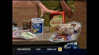 Healthy Breakfast Ideas for the School Year (Fall 2011 on KARE 11)