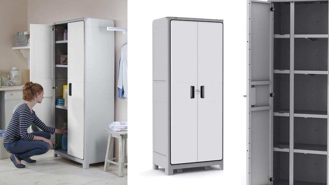 Kitchen Storage Cabinet Tall Garage Utility Pantry Tools Organizer