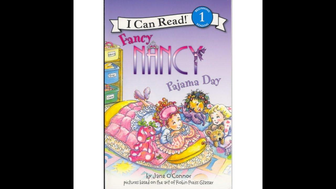 fancy nancy pajama day read along aloud story book for children kids youtube - Fancy Nancy Halloween