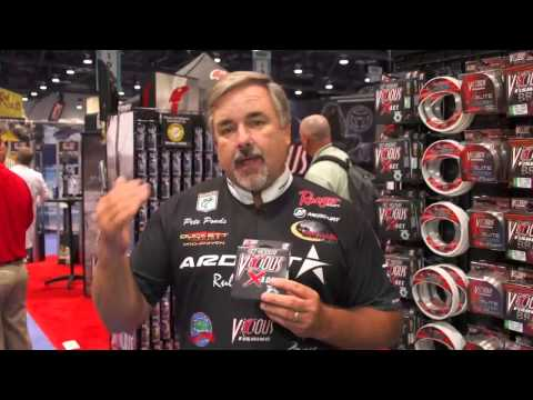 Vicious X.A.C.T. Copolymer Line With Pete Ponds | ICAST 2013