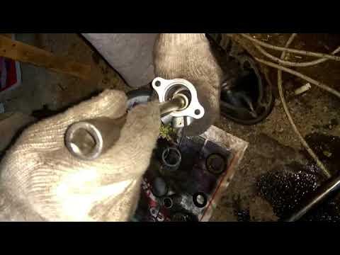 Замена сальников рулевой рейки Honda CR-V