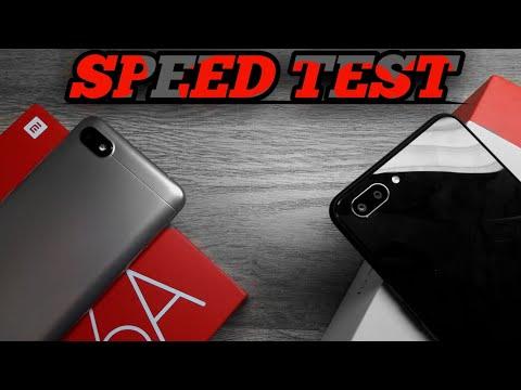 Realme C1 vs Redmi 6A - Speedtest