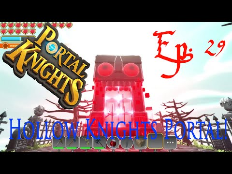 "Portal Knights Ep. 29 ""Secret Hollow Knights Island and Massive Dungeon!!"""