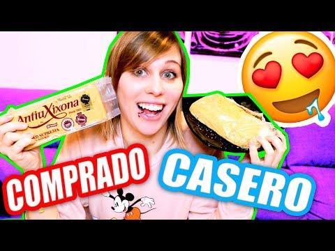 TURRÓN COMPRADO vs CASERO!