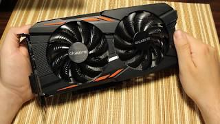 Видеокарта Gigabyte GeForce GTX 1050 Ti Windforce OC 4G. Распаковка и первые впечатления.
