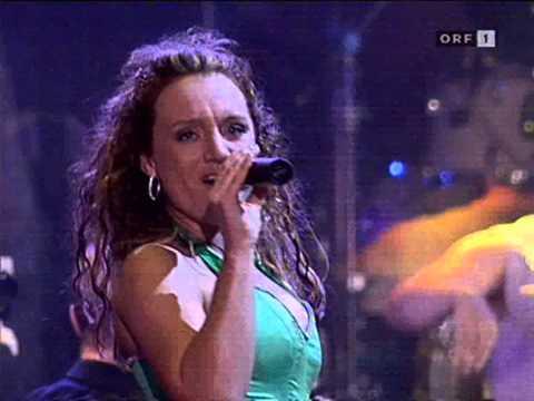 Niddl (Anita Ritzl) bei Dancing Stars