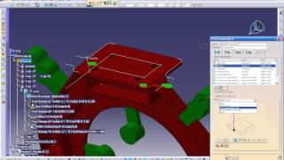 CATIA Machining Tutorial - FULL LESSONS - HD (5/6) Finish Toolpath