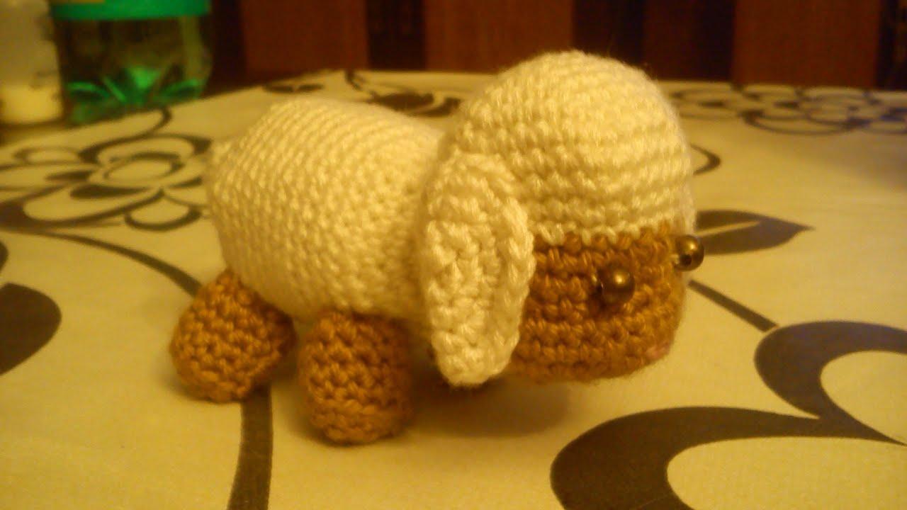Como hacer una oveja a ganchillo youtube - Hacer una manta de ganchillo ...