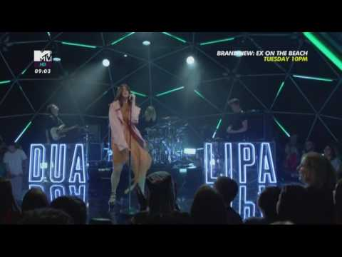 Dua Lipa - Lost In Your Light (Live from the MTV LIVE STAGE 2017)