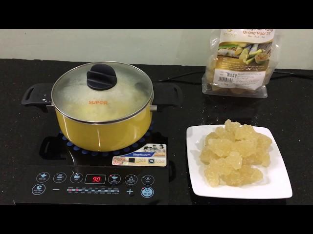 Nấu Chè Đậu Xanh Với Đường Phèn / Đường Phèn Quảng Ngãi / 3T Food