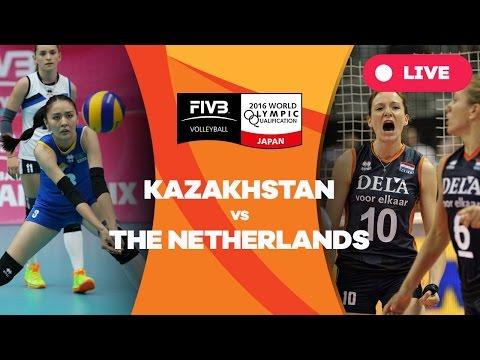 Kazakhstan v Netherlands - 2016 Women's World Olympic Qualification Tournament