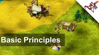 Cultures - Tutorial | Basic Gameplay Principles [1080p/HD]