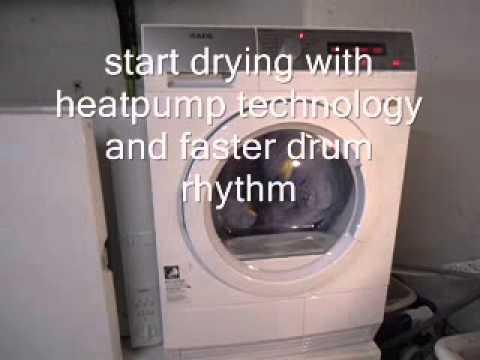 Aeg lavatherm protex plus sensidry t exih wäschetrockner youtube
