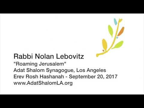 Roaming Jerusalem