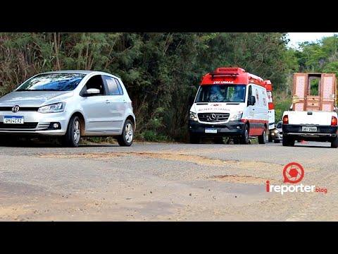 Buraqueira na estrada  de Itapetinga/Macarani faz mais uma vítima (inscreva-se no canal)