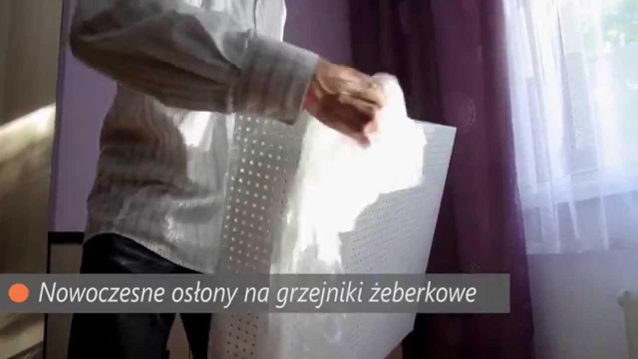 Oslony Na Grzejniki Zeberkowe Vismar Pl Youtube