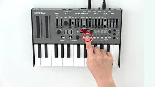 """""""Using the Sequencer"""" Roland SH-01A #02"""