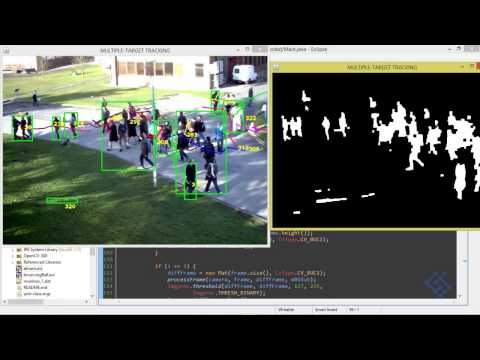 Multi target tracking Java OpenCV - 03 - YouTube