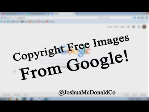 How To Use Google To Find Copyright Free Images!!!