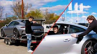 Vezeme Porsche za Porsche do Porsche w/@GT Sports Technology @Dj Lucky boy
