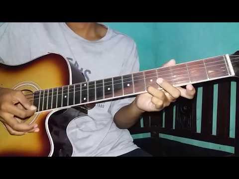 Belajar gitar mudah intro (biarlah-killing me inside) NO CAPO