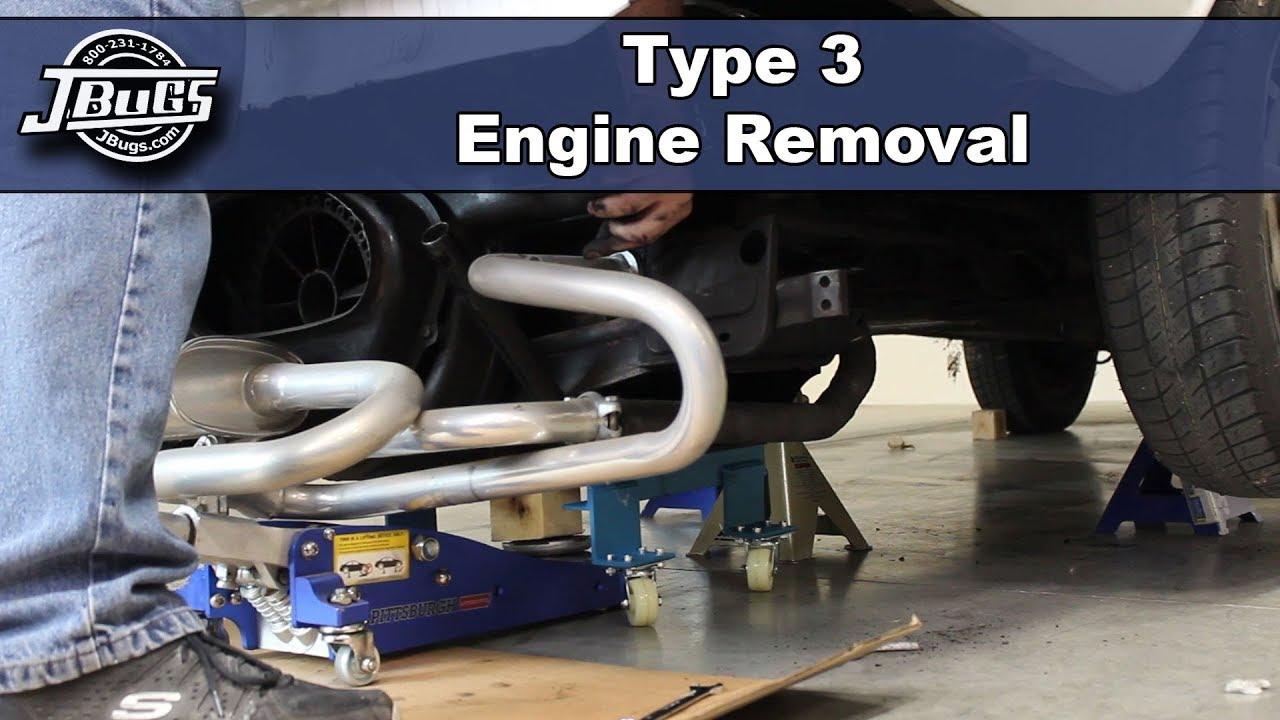 jbugs vw type 3 engine removal [ 1280 x 720 Pixel ]
